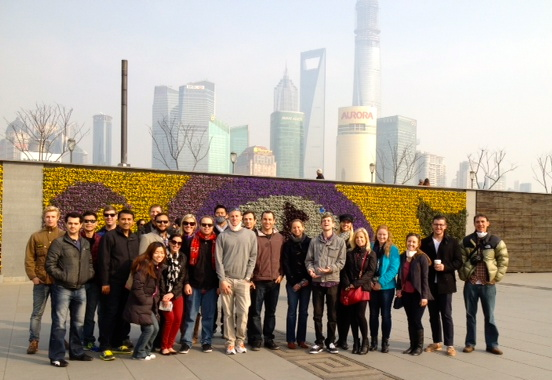 MBA students consulting consulting in Shanghai