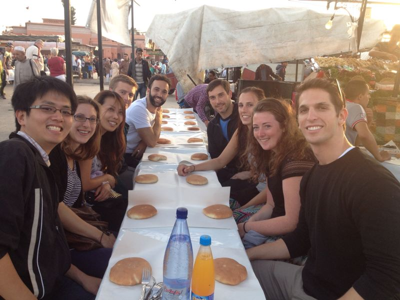 USD´s IE students in Morocco