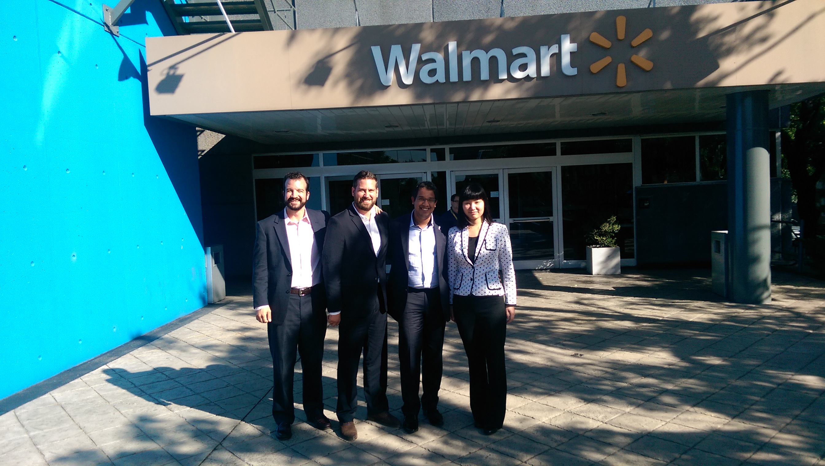 USD Students gaining some international consulting experience at Walmart Argentina