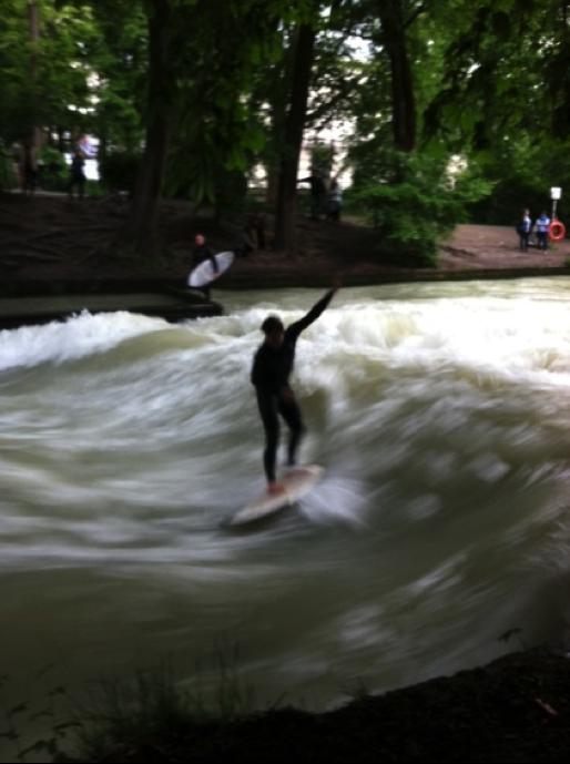 Munich River Surfing SU15