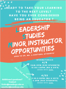 flyer to advertise teaching