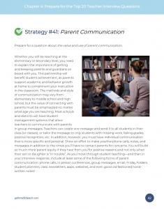 Strategy #41: Parent Communication