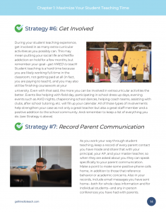 Strategies 6 & 7 Get Involved & Record Parent Communication