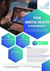 Tele-mental health flyer