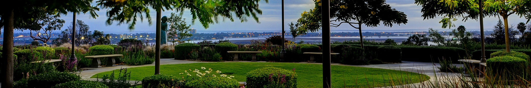 View from USD campus.