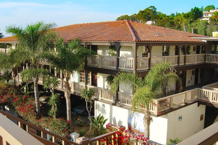 View of Hacienda Hotel