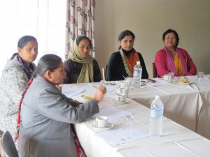 Women members of Parliament speak about the challenges confronting Nepal and how women can help to solve them