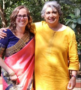 Photo of Maylen and Dr. Kalyanpur