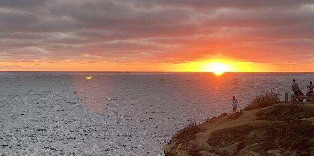 Sunset at Sunset Cliffs