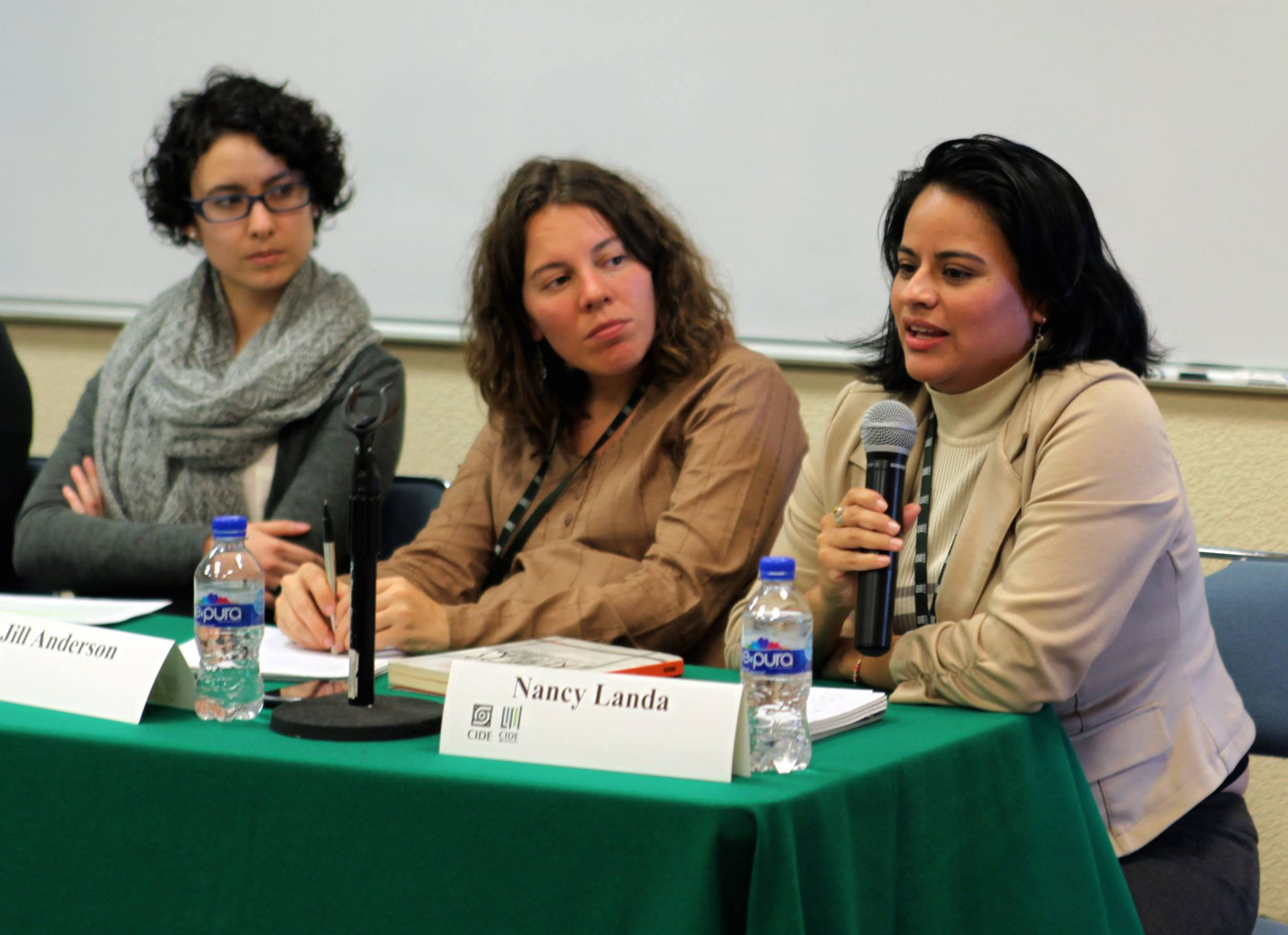 Nancy Landa in Mexico City. Photo courtesy Nancy Landa.