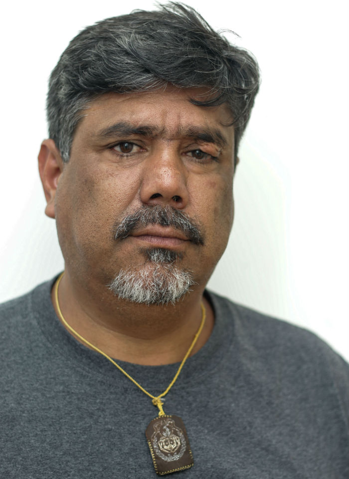 Indalecio Benítez, founder and director of Calentana Mexiquense 98.1 FM. Photo: Francisco Cañedo, SinEmbargoMx.