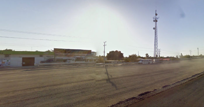 Dust is a mute witness in the streets of Ché Ríos. Photo: Google Maps