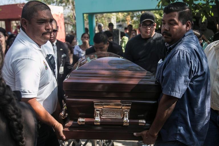 The funeral of Bernadino Aispuro. Photo: Rashide Frías, Ríodoce.