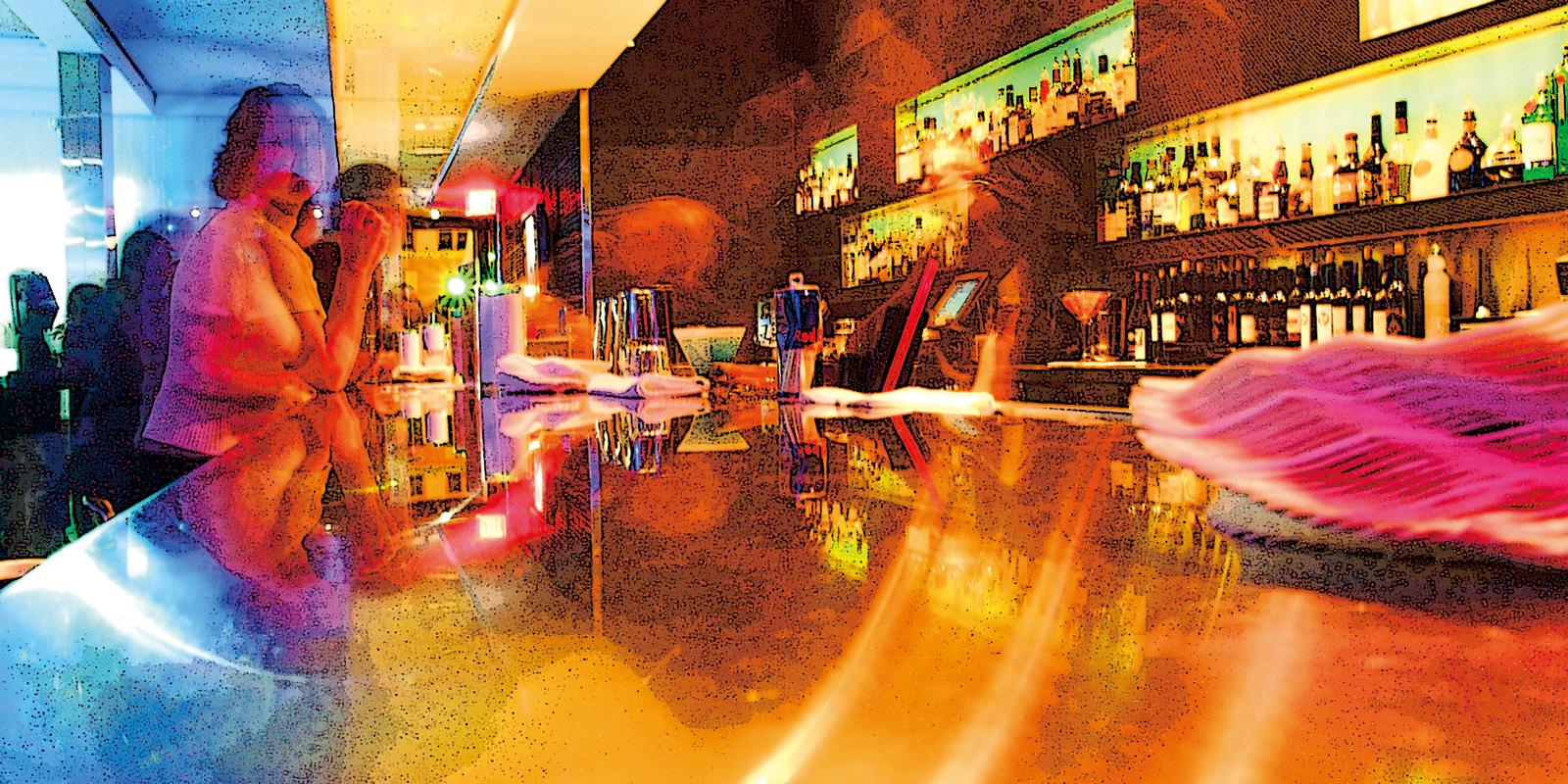 Image of technicolor bar