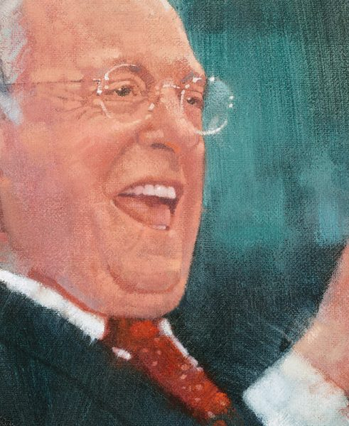 Portrait of alumnus and statesman Dave Cox '61