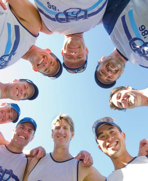 USD Men's Alumni Rowing Squad