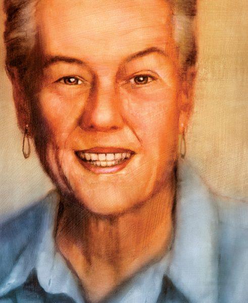 portrait of Frances G. Harpst