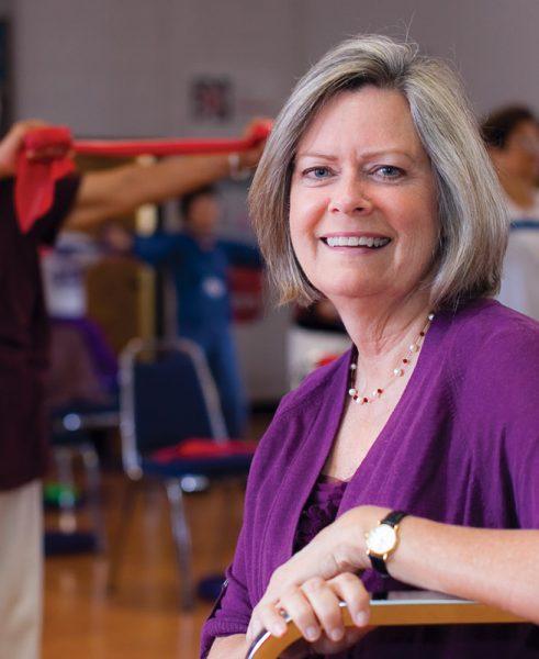 Hahn School of Nursing and Health Science professor Ann Mayo