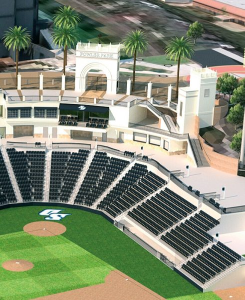 Artist rendering of USD's Fowler Park