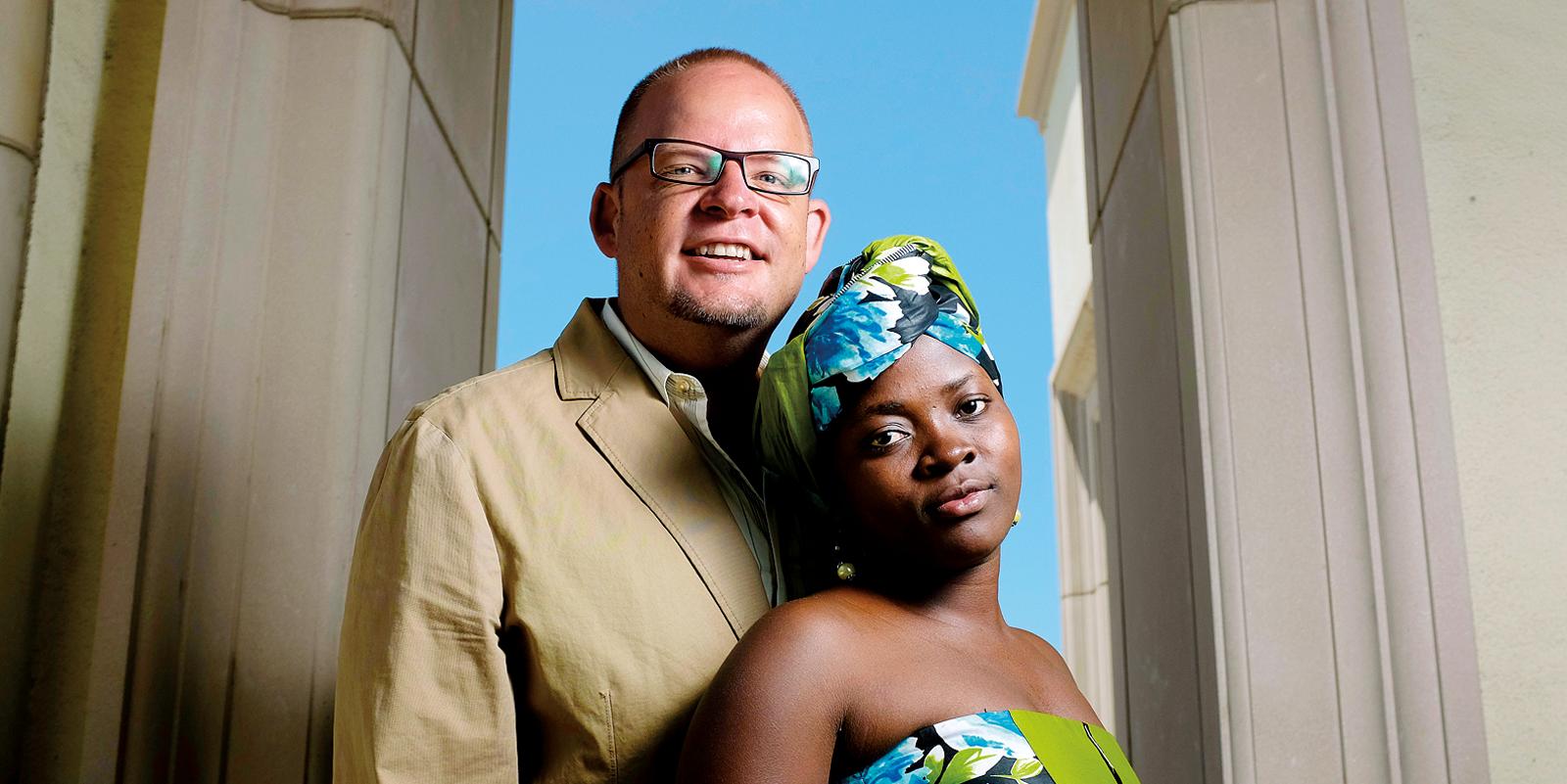 Nathaniel Dunigan and Dorah Wanyana Dunigan