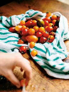 Closeup of tomatoes