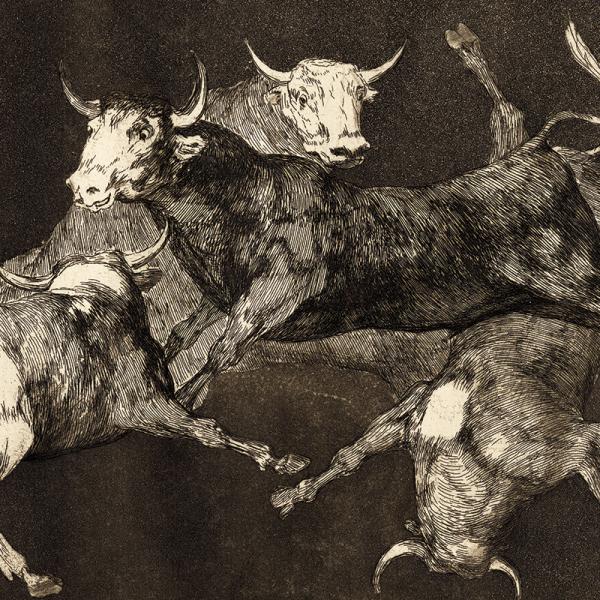 Goya's Al toro y al aire darles calle