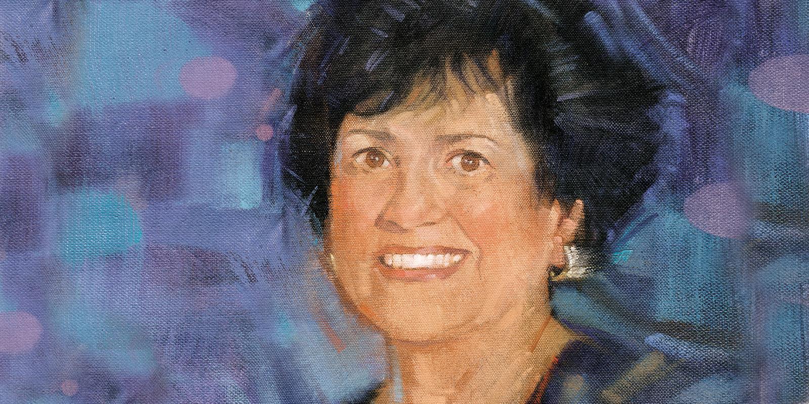 Illustration of Carol Vassiliadis
