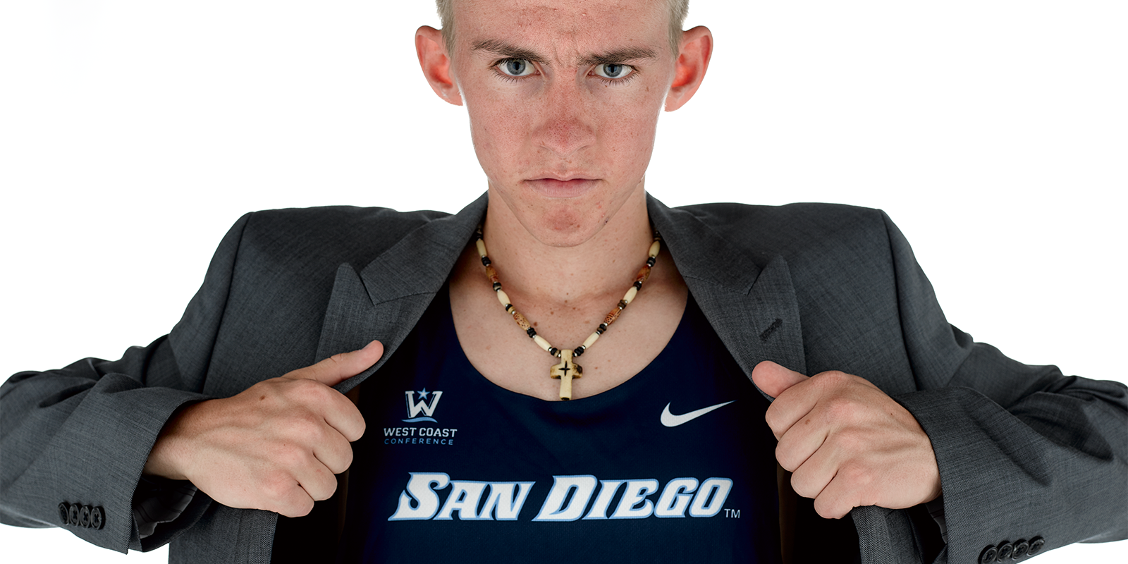 USD athlete and AS President T.J. Hodges