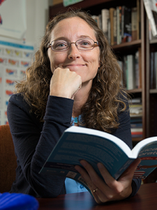 USD Political Science Professor Casey Dominguez