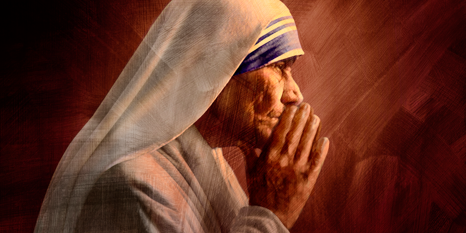 Illustration of Mother Teresa