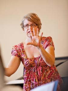 Choral Scholar alumna Kristi Kuster