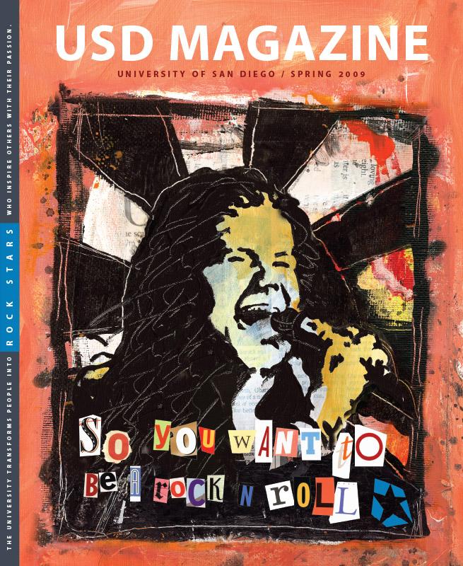 Spring 2009 USD Magazine cover