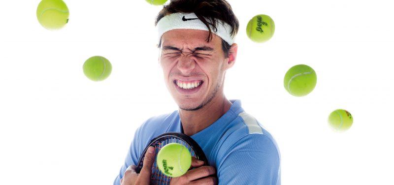 USD tennis player Filip Vittek