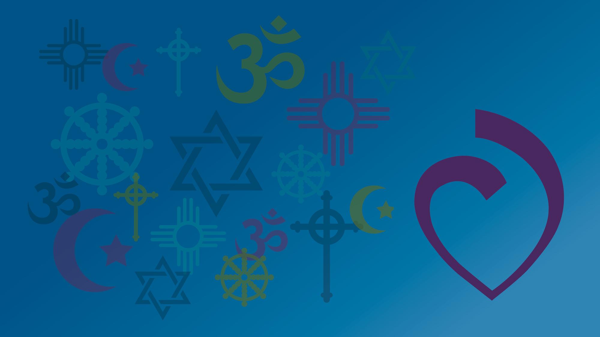 All Faith Service banner