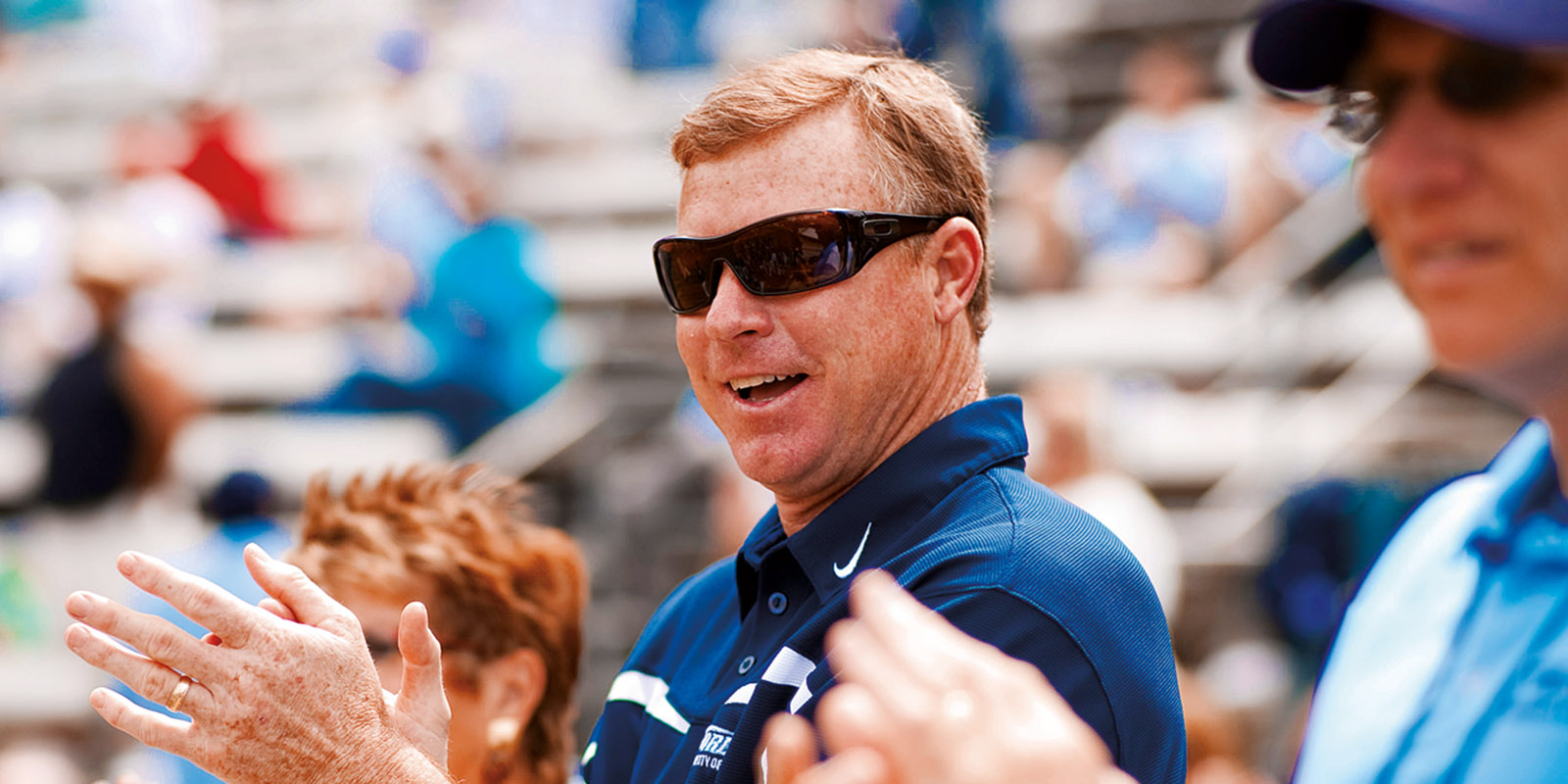 USD Athletic Director Ky Snyder