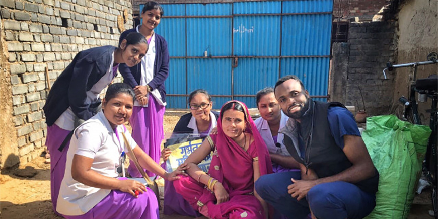 USD MEPN students in India