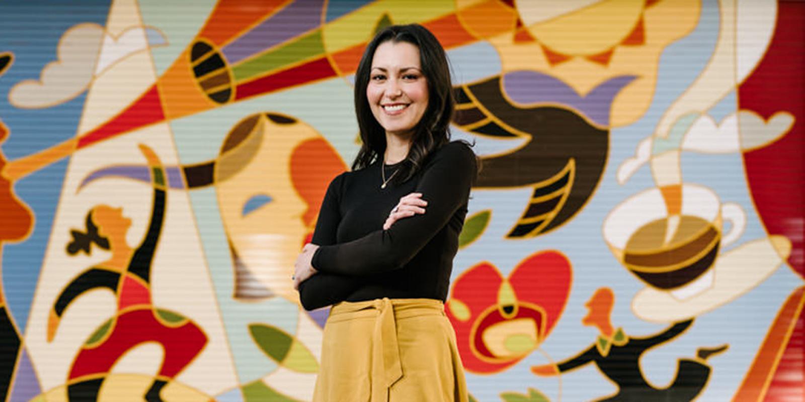 USD alumna Dana Hernandez