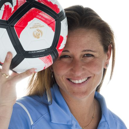 USD Women's Soccer Coach Louise Lieberman