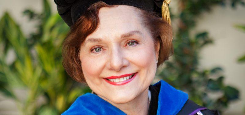 Outgoing USD School of Nursing Dean Sally Hardin