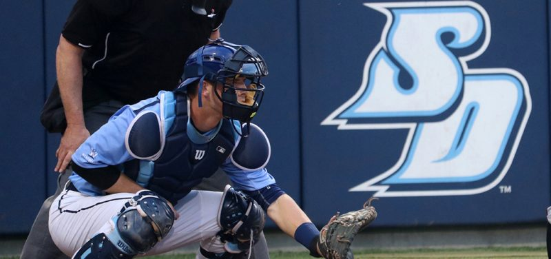 USD catcher Riley Adams