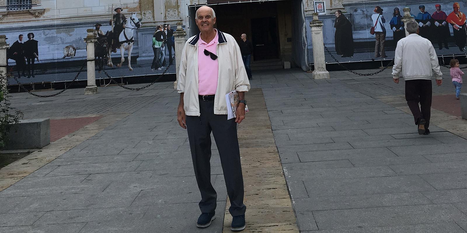 Gary Schons in Spain