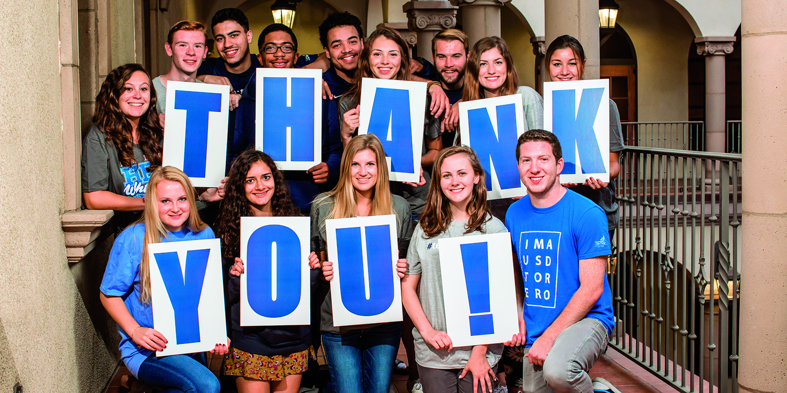 USD students say thank you