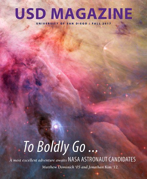 Fall 2017 USD Magazine cover