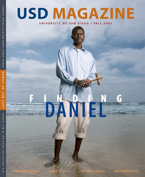 Fall 2005 USD Magazine cover
