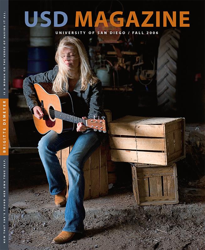 Fall 2006 USD Magazine cover