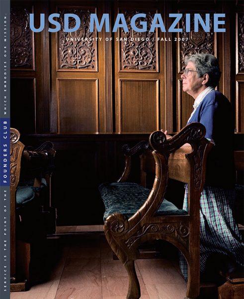 Fall 2007 USD Magazine cover