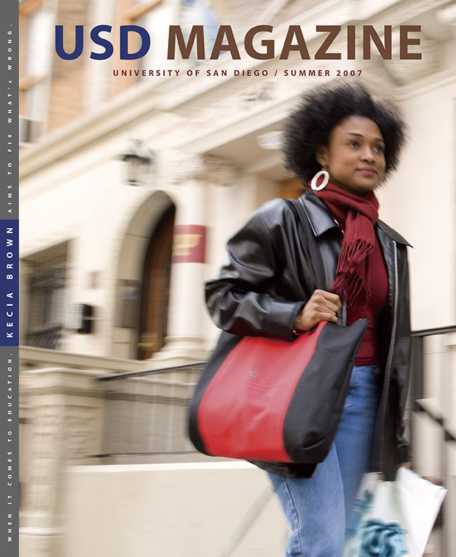 Summer 2007 USD Magazine cover
