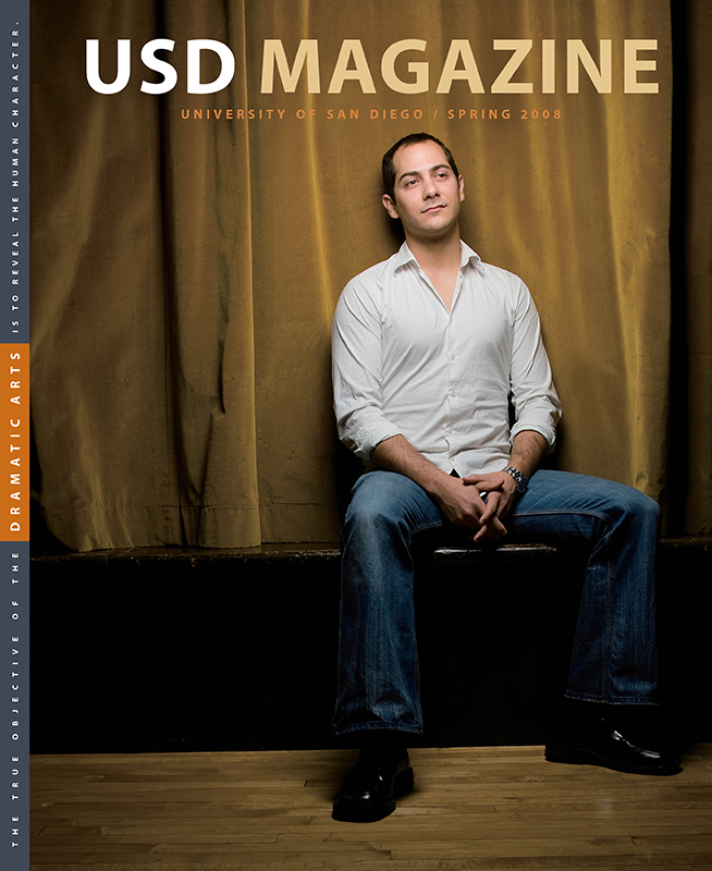 Spring 2008 USD Magazine cover