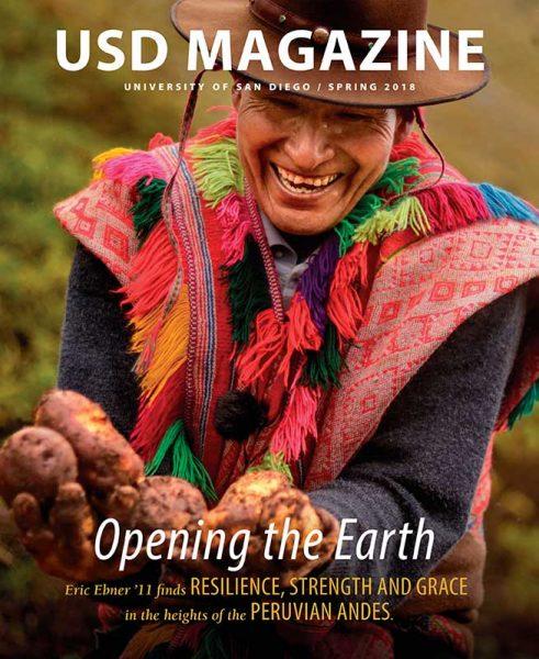 Spring 2018 USD Magazine Cover