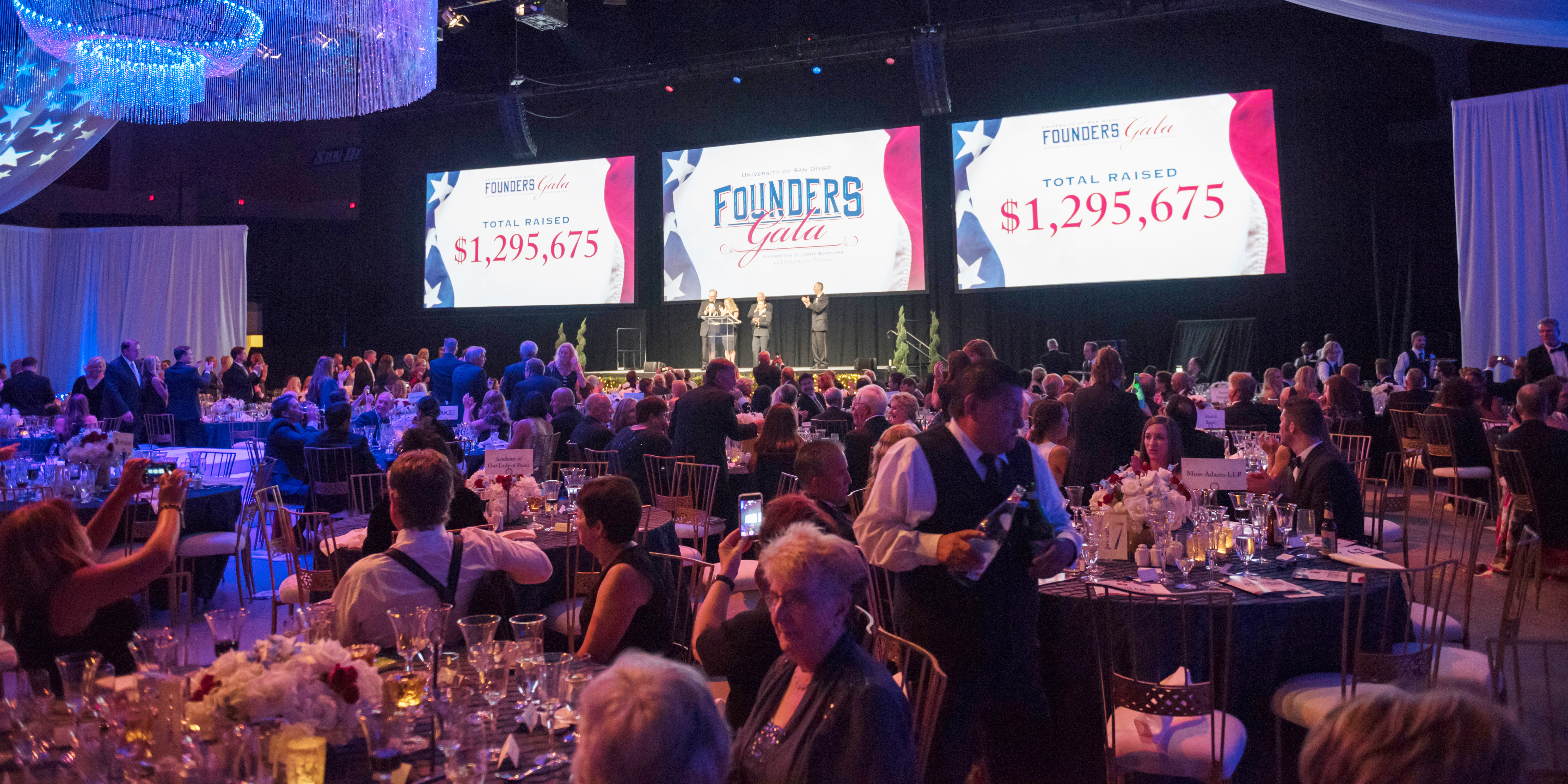 2017 Founders Gala overview shot